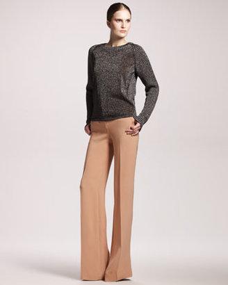 Reed Krakoff Wide-Leg Silk Pants