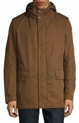Strellson Faux Fur-Lined Water-Repellent Jacket
