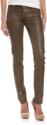 Christopher Blue Sophia Gold Skinny Jeans