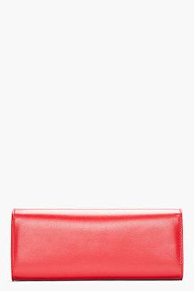 Saint Laurent Lutetia Red leather Lutetia Flap clutch