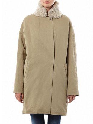 32 Paradis Sprung Frères Askim fur-lined coat