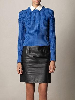 Acne Lia waffle-knit sweater
