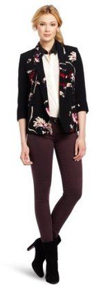 French Connection Women's Fast Anya Flower Jacket