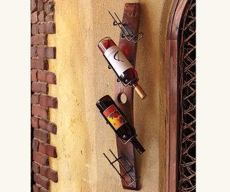 Napa Style Barrel Stave Tilt Wine Rack