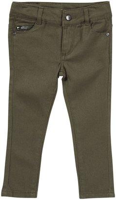 DKNY Colored Rocker Jeans - Burnt Olive-2T