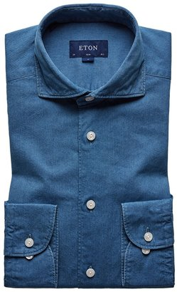 Eton Soft Lightweight Denim Shirt - Slim Fit