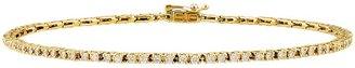 Ice.com 1 Carat Diamond 14K Yellow Gold Bracelet