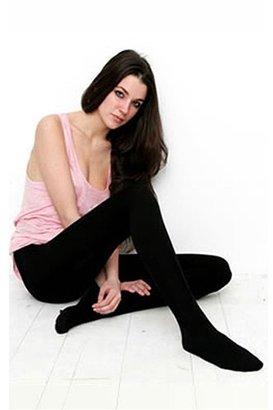 Plush Full Foot Fleece Lined Tights