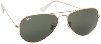 Ray-Ban Original Aviator Sunglasses $150 thestylecure.com