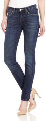 Vivienne Westwood for Lee Women's Skinny Zip Jean in Old School Blue