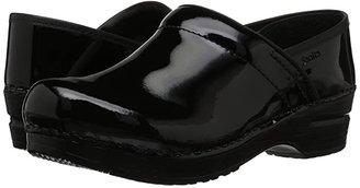 Sanita Professional Patent (Black Patent) Women's Clog Shoes