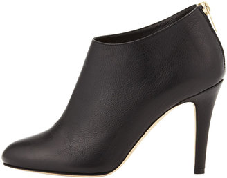 Jimmy Choo Mendez Leather Ankle Boot, Black