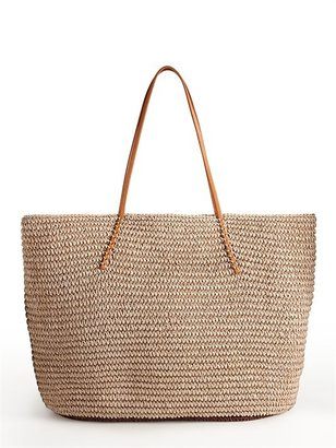 DKNY Twisted Color block Tote