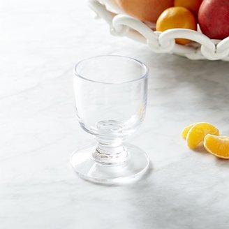 Crate & Barrel Riviera Wine Glass. 7 oz.