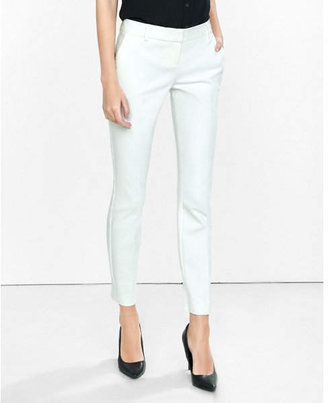 Express Low Rise New Waistband Columnist Ankle Pant $69.90 thestylecure.com