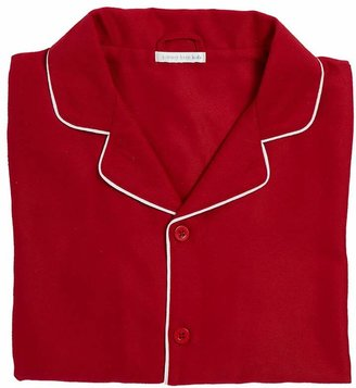 Pottery Barn Kids Adult Solid Red Pajamas, Size S