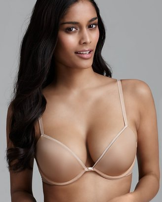 Calvin Klein Underwear Push-Up Bra - Naked Glamour Add a Size Plus with Lace #F3318