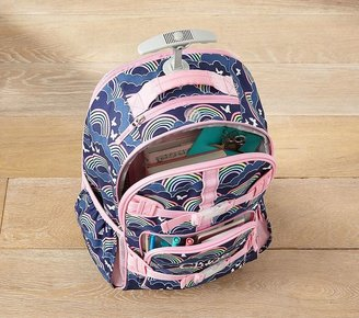 Pottery Barn Kids Mackenzie Plum Bird Backpacks