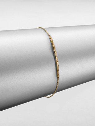 Sydney Evan Diamond & 14K Gold Bar Bracelet