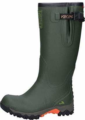 Viking FORCE II, Unisex Adults Rubber Boots, Green (Green 4), 6.5 UK (39 EU)
