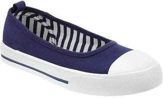 Old Navy Girls Slip-On Canvas Sneakers