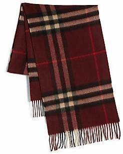Burberry Men's The Classic Giant Check Cashmere Scarf