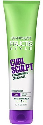 Garnier Fructis Style Curl Sculpt Conditioning Cream Gel, Curly, 5.1 oz. (Packaging May Vary) $4.29 thestylecure.com