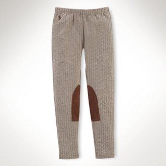 Tweed Jodhpur Legging