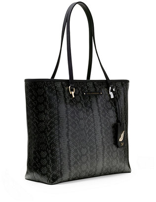 Diane von Furstenberg Sutra Ready To Go Printed Leather Tote