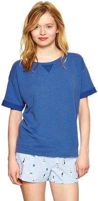 Gap Terry short-sleeve pullover
