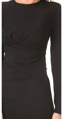 Alexander Wang Long Sleeve Twist Dress