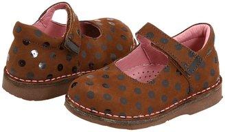 Kid Express Charlotte (Toddler/Little Kid/Big Kid) (Chestnut Nubuck) - Footwear
