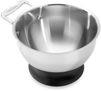 All-Clad 1.5-Quart Stainless Steel Mixing Bowl with Silicone Base