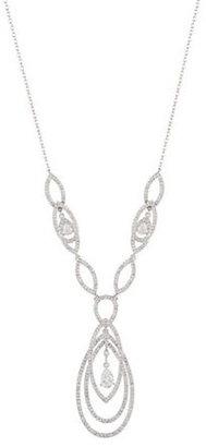 Nadri Rhinestone Pendant Necklace