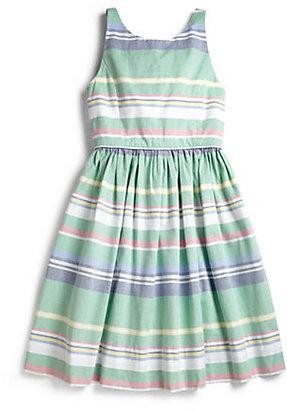 Ralph Lauren Girl's Cotton Oxford Dress