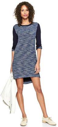 Gap Reverse terry sweatshirt dress