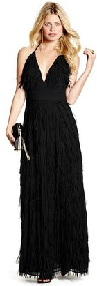 GUESS by Marciano Yvette Fringe Gown