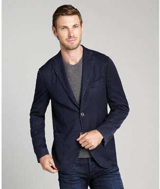Boglioli navy wool 3-button 'K' jacket