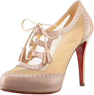 Christian Louboutin Oxford Lace-Up Bootie
