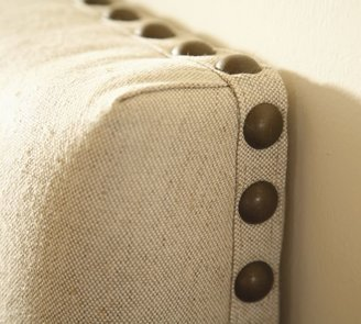 Raleigh Upholstered Square Bed & Headboard