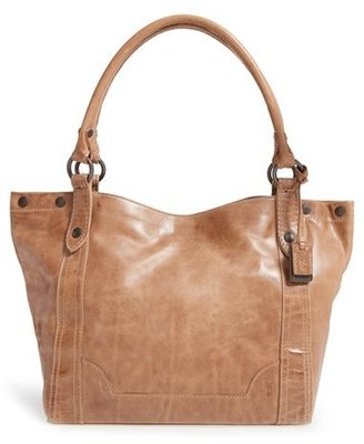 Frye Melissa Leather Tote - Beige $358 thestylecure.com