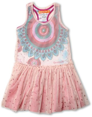 Desigual Kids - Jarochos (Little Kids/Big Kids) (Rosa Plateado) - Apparel