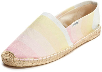 Soludos Washed Ombre Espadrille Flat