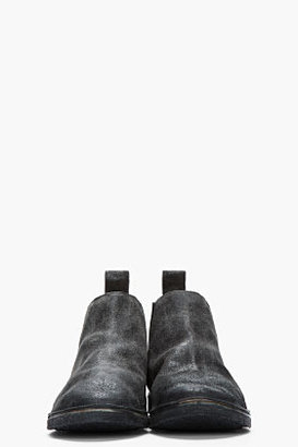 Marsèll Charcoal grey sparkly Simple Strapara boots