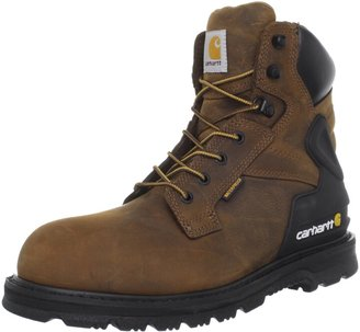 """Carhartt Men's CMW6120 6"""" Leather Waterproof Breathable Safety Toe Work Boot"""