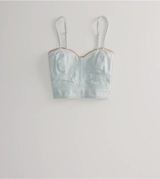 American Eagle AE Sweetheart Crop Corset Style: 0352-5160 | Color: 910