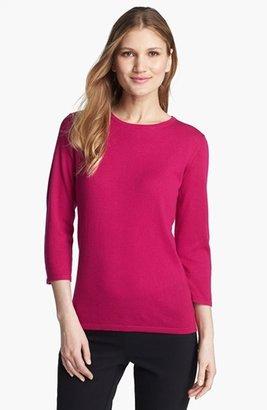 Nordstrom Crewneck Silk & Cashmere Sweater