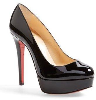 Women's Christian Louboutin Bianca Platform Pump $875 thestylecure.com