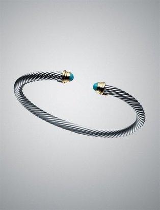 David Yurman Small Dec Cable Kids Birthstone Bracelet