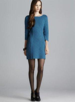 Patrizia Pepe Dotted Knit 3/4-Sleeve Dress